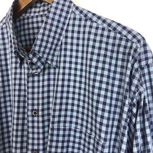BURBERRY London Mens Button Down Shirt Size Large
